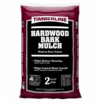 Timberline Brown Hardwood Bark Mulch 2 cu. ft. - Case Of: 1 - Count of: 1