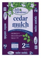Jolly Gardener Brown Cedar Mulch 2 cu. ft. - Case Of: 1 - Count of: 1