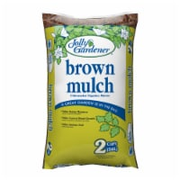 Jolly Gardener Brown Wood Mulch 2 cu. ft. - Case Of: 1 - Count of: 1