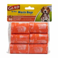 Glad For Pets Tropical Breeze Scented Waste Bags