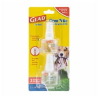 Glad Clean 'n Go Sanitizing Spray Refills