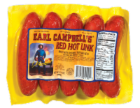 Earl Campbell's Red Hot Link Sausages