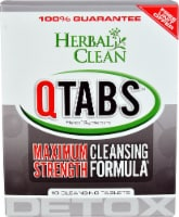 Herbal Clean  Detox QTabs™ Maximum Strength Cleansing Formula
