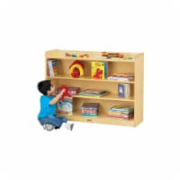 Jonti-Craft 0782TK Thriftykydz Mobile Bookcase with Lip