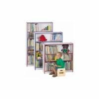 Jonti-Craft 0961JC004 BOOKCASE - 48 INCH HIGH - PURPLE - 1