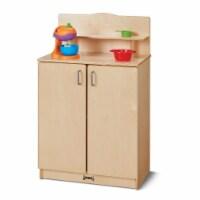 Jonti-Craft 2407SA Culinary Creations School Age Kitchen Cupboard - 38.5 x 24 x 15 in. - 1