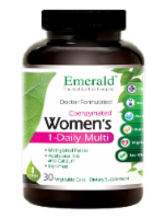 Emerald 1-Daily Women's Multivitamin Vegetable Caps