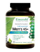 Emerald 1-Daily Men's 45+ Multivitamin Vegetable Caps