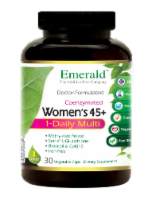 Emerald 1-Daily Women's 45+ Multivitamin Vegetable Caps