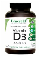 Emerald Labs Vitamin D-3 2500 IU Vegetable Capsules