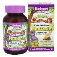 Bluebonnet Nutrition Super Earth Rainforest Animalz Whole Food Based Assorted Fruit,90Chews - 90