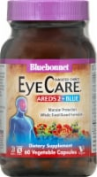 Bluebonnet Nutrition AREDS2 + Blue Macular Protection Dietary Supplement Vegetable Capsules