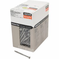 Simpson Strong-Tie #10 x 3 In. Stainless Steel Bugle Head Deck Screw (5 Lb. Box) - #10 x 3 In.