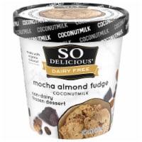 SO Delicious Dairy Free Mocha Almond Fudge Coconutmilk Frozen Dessert