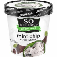 SO Delicious Dairy Free Mint Chip Coconutmilk Frozen Dessert