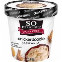SO Delicious Snickerdoodle Cashewmilk Non-Dairy Frozen Dessert - 1 pt