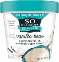 SO Delicious Vanilla Bean Coconutmilk Non-Dairy Frozen Dessert
