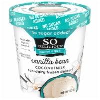 SO Delicious Vanilla Bean Coconutmilk Non-Dairy Frozen Dessert - 1 pt