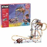 K'NEX Thrill Rides - Space Invasion Roller Coaster Building Set with Ride It! App - 438 Piece