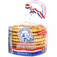 Finger Licking Dutch, Caramel Stroopwafels, 8-Pack (QTY:12) - 8.8 oz