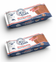 Finger Licking Dutch, Caramel Stroopwafel Cookies (QTY: 2 Trays) - 8.8 oz
