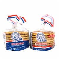 Finger Licking Dutch, Caramel Stroopwafels, 8-Pack (QTY:2) - 8.8 oz