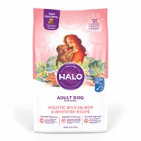 HALO Wild Salmon & Whitefish Natural Dry Adult Dog Food