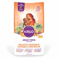 Halo Holistic Chicken & Chicken Liver Dry Adult Dog Food