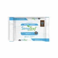 Simpleaf Unscented Flushable Wipes 50 count 1 pack - 1