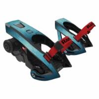 MightySkins RATUJE-Blue Swirls Skin for Razor Turbo Jetts Electric Heel Wheels - Blue Swirls
