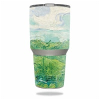 MightySkins YERAM30-Green Wheat Fields Skin for Yeti 30 oz Tumbler - Green Wheat Fields