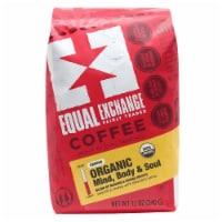 Equal Exchange Organic Mind Body & Soul Ground Coffee - 12 oz