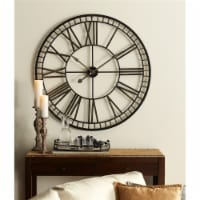 Oversized Metal Wall Clock 40 D Metal (Requires 1 C Battery, Not Inlcuded) - 1