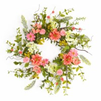 Cosmos/Berry Wreath 27 D Polyester/Plastic - 1