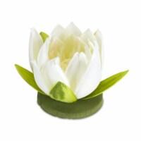 Lotus (Set of 12) 4  x 4 H Polyester - 1