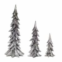 Tree (Set of 3) 11.5 H, 18 H, 24.75 H Resin - 1