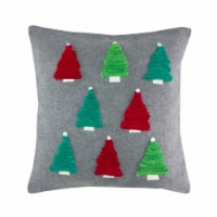 Pillow with Trees 17.5  Polyester - 1