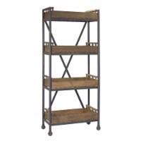 Floor Shelf 29.5 L x 15.5 W x 72 H - 1