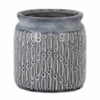 Pot (Set of 2) 7  x 8 H Terra Cotta - 1