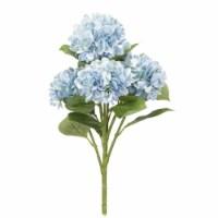 Hydrangea Bush (Set of 6) 23 H Polyester - 1
