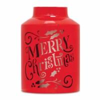 Merry Christmas Lantern 10.25 H (Set of 2) Iron - 1