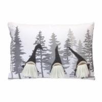 Gnome Pillow 18 L x 12 H Polyester/Linen - 1