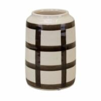 Vase (Set of 2) 5.5 D x 8 H Terra Cotta - 1