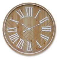 Wall Clock 31.5 D MDF/Glass - 1
