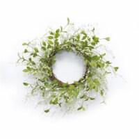 Mini Trumpet Wreath 25 D Polyester/Paper - 1