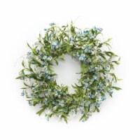 Mini Floral Wreath 21 D Paper/Plastic - 1