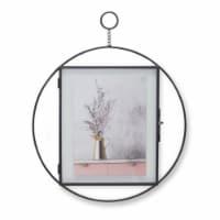 Hanging Frame (Set of 2) 11 D x 13.25 H Iron/Glass - 1