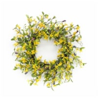 Forsythia Wreath 27 D Polyester - 1