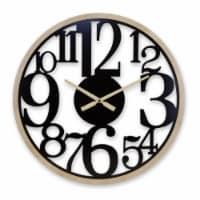 Wall Clock 23.5 D MDF - 1