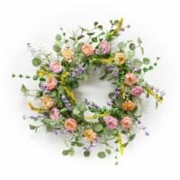Mixed Floral Wreath 20 D EVA/Paper - 1